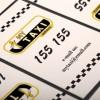個人タクシードライバー必見のおしゃれな無料名刺テンプレート(AI・PSD)