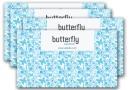 蝶々の背景が意外にかわいい!無料の名刺テンプレート(PSD)