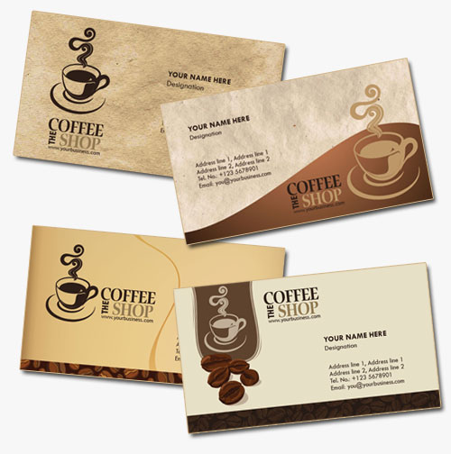 Coffee shop business card templates free 28 images coffee coffee shop business card templates free by 4 friedricerecipe Image collections